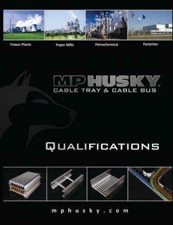 For more information or to order, call 1-800-277-4810 or ... - MP Husky
