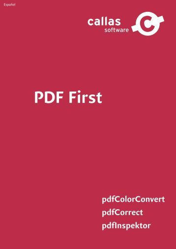 PDF First