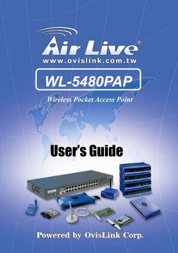Wireless Network - AirLive