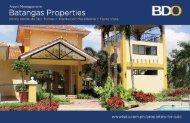 Batangas Properties Flyer - BDO