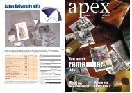 Apex Pages 14-end - Aston University