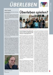 Überleben 15/2012 - Bundesverband Information und Beratung für ...