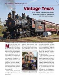 Vintage Texas - Leisure Group Travel