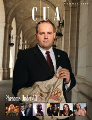 Phenoms Under 40 - CUA Magazine - The Catholic University of ...