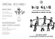 SPECIAL 9/12 ANS !