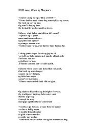 HMS sang (Tore og Magnar)