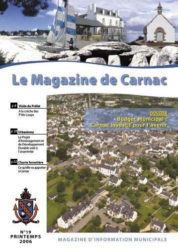 Le Magazine de Carnac
