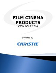 FILM CINEMA PRODUCTS - Spacevision.gr