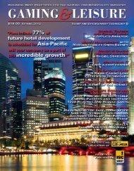Spring 2012 Issue - Gaming & Leisure Magazine