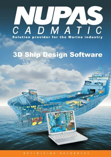 3D Ship Design Software - cadmatic