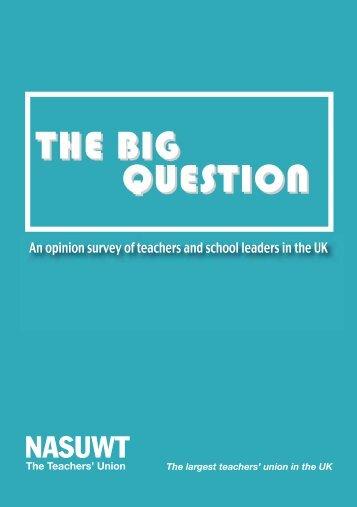 Big Question report - NASUWT