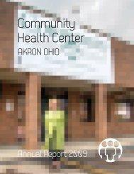 CHC Annual Report 2009 - Community Health Center