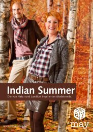 Indian Summer - May