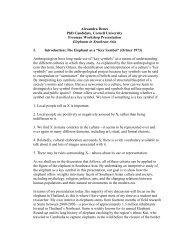 Outline - Southeast Asia Program - Cornell University
