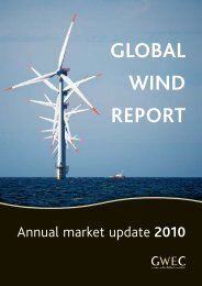 Download the report here - Global Wind Energy Council