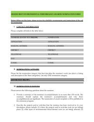 Award Nomination Form - REMA