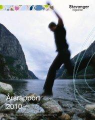 Årsrapport 2010 - Region Stavanger