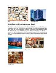 Grand Continental Hotel Kuala Lumpur (3 star) - Belantara Holidays