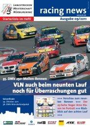 VLN Racing News (pdf) - Briloner Automobilclub eV im ADAC