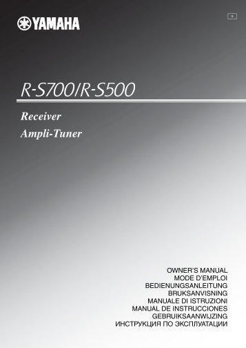 Receiver Ampli-Tuner - Yamaha Hifi