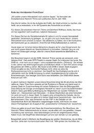 Jubilarehrung 08 Rede des Vors. - SPD Mülheim an der Ruhr