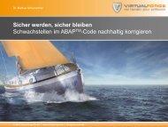 PPT Masterfolie zur Erstellung von Präsentationen - Virtual Forge