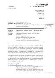 Tønder - Energiklagenævnet