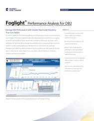 Product Review: Quest Software's Foglight Performance