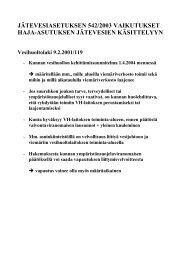 jätevesiasetuksen 542/2003 vaikutukset haja ... - Rakentaja.fi