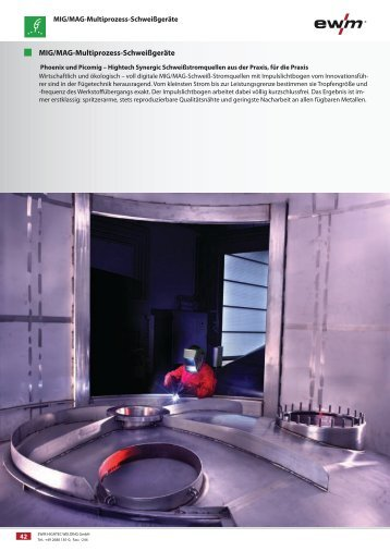 MIG/MAG pulse welding machines - Ewm-sales.co.uk