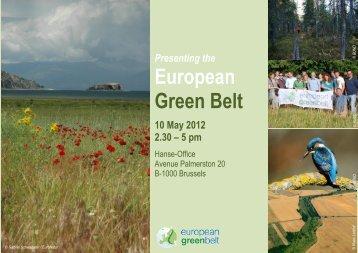 European Green Belt - Hanse Office