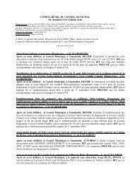 Compte rendu du 19 octobre - saint- aubin