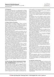Allgemeine Einkaufsbedingungen - IMO Oberflächentechnik GmbH
