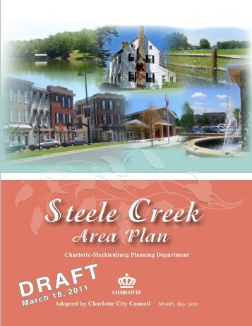 Steele Creek Area Plan (Draft) - Charlotte-Mecklenburg County