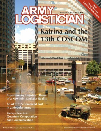 Army Logistician Magazine September/October 2006