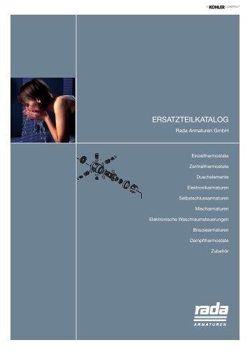 Rada Ersatzteilkatalog (5,9MB) - Rada Armaturen GmbH