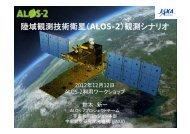 陸域観測技術衛星(ALOS-2)観測シナリオ - 宇宙航空研究開発機構