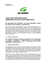 LAND- UND FORSTWIRTSCHAFT LEBENSMITTELPOLITIK UND ...