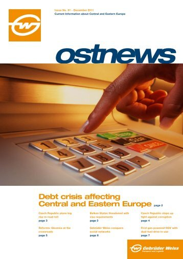 Debt crisis affecting Central and Eastern Europe page 2