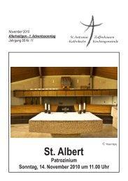 St. Albert - Sankt-antonius-online.de