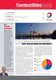 Combustibles lourds - total raffinage marketing