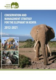 National Elephant Strategy - People's Trust for Endangered Species