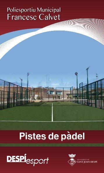 Activitat Pàdel 2012
