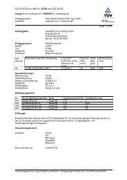GUTACHTEN zur ABE Nr. 47038 nach §22 StVZO ... - onlineraeder.de