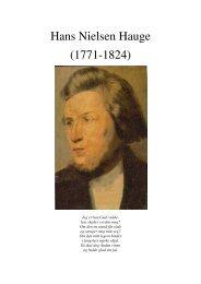 Hans Nielsen Hauge (1771-1824) - Lyd-i-Natten.dk