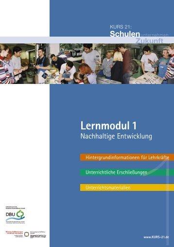 Nachhaltige Entwicklung - Kurs 21