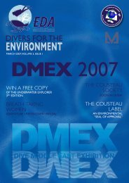 EDA March 2007 Issue.indd - Emirates Diving Association