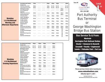 Rockland Coaches Route 11a Coach Usa