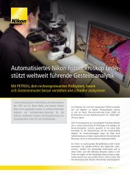 Automatisiertes Nikon Fotomikroskop unter- stützt ... - Nikon Metrology