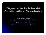 Diagnosis of the Pacific Decadal Oscillation in Global Climate Models